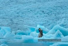 "Ice lagoon where song of movie ""dilwale"" is shot."