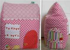 Cute House Door Stop – Free Pattern | Prints to Polka Dots Blog