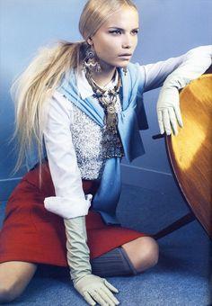 GIO KATHLEEN: Natasha Poly by Emma Summerton for i-D magazine v