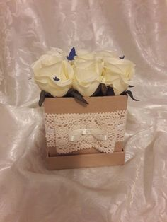 "Blanche Fleur virágdoboz - ""Vanilla bonbons"""