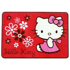 Hello Kitty Area Rug (Red):Dream Kitty