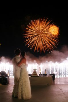 how outrageously expensive (and cheesy?) would wedding fireworks be?