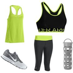 """""""Sports outfit (for exercise)"""" by kaitlynnbug11 on Polyvore"""