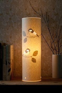 Lámpara de poco Chikadees dos