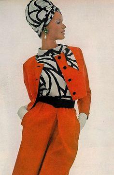 Style Icon // 60s-70s supermodel Veruschka