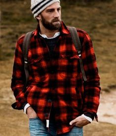 Plaid Flannel is a great look for the cooler weather. Pair with work boots for the outdoors or a tie for the office. Check out the plaid flannel collection.