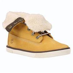 Timberland - Chaussures Deering Fold-Down Enfant du 20 au 30 - Jaune
