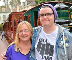 Had a great time at Disneyland yesterday with my son. #disneyland #disneyland60 #son #motherandson #train #neworleanssquare #neworleansstation by terrygirlvmk