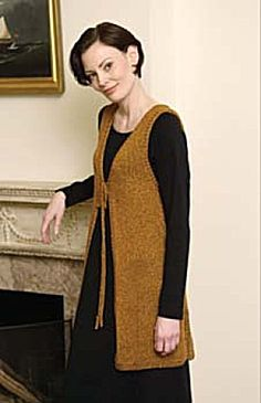 knitting pattern for a Vest.