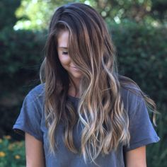 Sunlit☀️ on Karli Wattles Habit Salon Sunlit☀️ on Karli Wattles Habit Salon Related posts:▷ hairstyles and styles for copper hair color - ideas hair color gray highlights bob haircuts for 2019 - Hair. Brown Hair Balayage, Brown Ombre Hair, Brown Blonde Hair, Light Brown Hair, Ombre Hair Color, Brown Hair Colors, Brunette Hair, Highlights For Dark Brown Hair, Summer Brown Hair