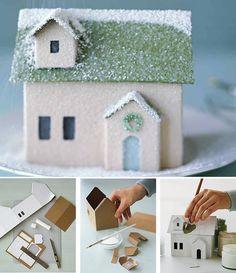 fabrication maison en carton
