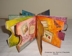 Astrid's Artistic Efforts-Little Book of Quotes, one for each month of the year. You add the quotes into the pockets!