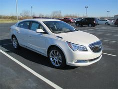 Color...on exterior and interior and those WHEELS!!! I want!!!! 2014 Buick Lacrosse