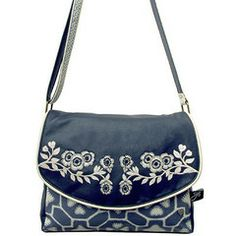 Disaster Designs Accessories | Disaster Designs Jan Constantine China Blue Satchel – ScaryCanary