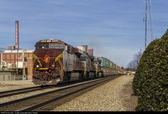 RailPictures.Net Photo: NS 8102 Norfolk Southern GE ES44AC at Reidsville, North Carolina by Dean Steele