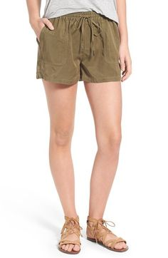 Paige Denim 'Tatum' Drawstring Shorts