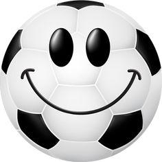 Smiley-Face Soccer Ball   soccer ball smiley