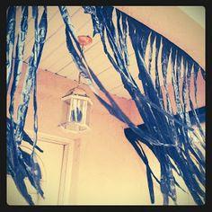 makes: diy: halloween decor trash bag creepy curtains Halloween Birthday, Halloween 2015, Holidays Halloween, Baby Halloween, 8th Birthday, Diy Halloween Decorations, Halloween Crafts, Halloween Ideas, Halloween Stuff