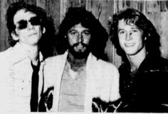Found this picture of Stiv Bators, Barry Gibb and Andy Gibb in the June 12, 1978 edition of the Vindicator. The Dead Boys and Youngstown's own Stiv Bators became good friends with the Bee Gees while recording their We Have Come For Your Children album in early 1978 in Florida. Cheetah Chrome wrote extensively about it in his recently published autobiography if you're interested in more tales of the bizarre.