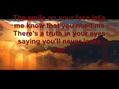 Ronan Keating - When You Say Nothing At All [Lyrics in Video] - YouTube