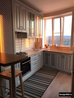 Farm Kitchen Decor, Kitchen Room Design, Home Room Design, Kitchen Furniture, Kitchen Interior, Home Interior Design, Small Apartment Interior, Apartment Kitchen, Apartment Design