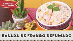 Salada de Frango Defumado - Receitas de Minuto EXPRESS #182