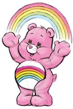 Care Bears: Cheer Bear Sketch