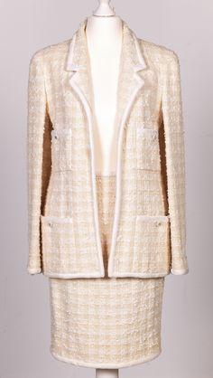 Chanel Auktion Lot 21: Chanel Kostüm aus der Spring Collection 1996. deutsche Größe 36