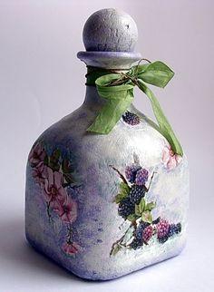 altered glass bottle