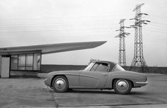 Prototype FSO Syrena Sport car, designed and built in Poland, 1950s