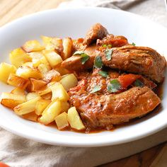 Comforting Paleo Chicken Paprikash- try this! It's healthy and so comforting on a cold day.