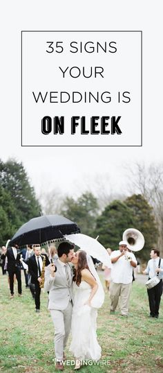 With all the time in the world to make your wedding a reflection of your relationship, it better be ON FLEEK! Check out @weddingwire's 35 sure-fire ways to succeed! {Erich McVey Photography}