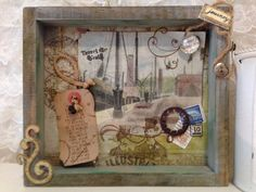 Shadow Box The Vintage Steampunk Travelers by virginiasvignettes, $20.00