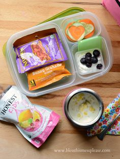 Rock the Lunch Box (and a giveaway!) - healthy lunch box ideas