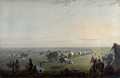 May 16, 1843: The Great Migration of 1843 commences. Somewhere between 700 and 1000 settlers packed their wagons and began the first major wagon train for Oregon.