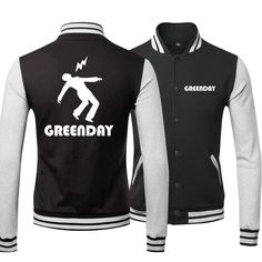 GREEN DAY fashion logo new style baseball hoodie