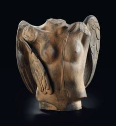 Igor Mitoraj (b. 1944) Eros Alato signed and numbered 'Mitoraj 3/8' (on the back) bronze with a brown patina 42 cm. high Conceived and cast in 1984 in an edition of eight