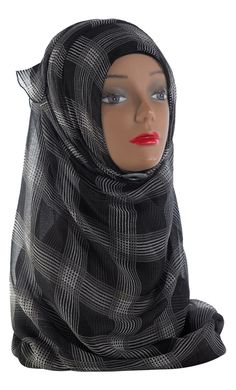 Beautiful Print Hijab to accentuate any of our abayas! Perfect for any occasion or as a gift! Fabric: 100% Chiffon