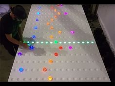 GRIDI: An Interactive Music Installation - YouTube