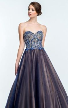 Strapless Ballgown by Terani Couture Prom 151P0088