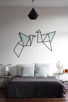 Neues Wandbild im Schlafzimmer