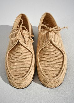 RAFFIA HANDMADE SHOES