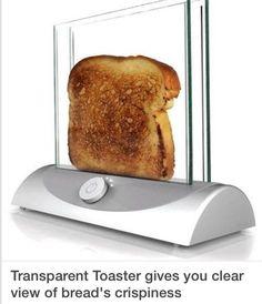 See-thru toaster...