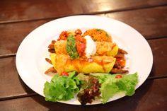 Enchilada at Rodeo - The Tex-Mex Restaurant & Pub