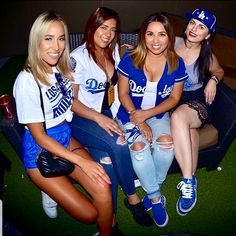 Dodgers Girl, Raiders Girl, La Rams, Baseball Girls, Dodger Blue, Everyday Hacks, Blue Crew, Tiny Dancer, Cheerleading
