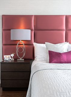 A touch of opulence #plum #ourproject #middleton #bedroomdecor
