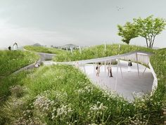 Penda Designs River-Inspired Landscape Pavilion for China's Garden Expo - 15 - 14