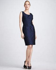 Sleeveless Dot Dress by Bigio Collection at Neiman Marcus.