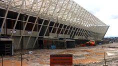 Com dois terços prontos, Arena Timão tem atenção a detalhes. Veja fotos.