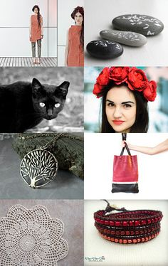 Red rose by Japan Momiji designs on Etsy--Pinned with TreasuryPin.com